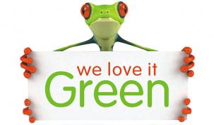 Priznanje green frog