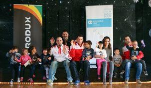 Crodux i hrvatski olimpijci donose djelić božićnog ugođaja u SOS Dječje