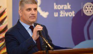 Darko Radišić, predsjednik Rotary kluba Zagreb Kaptol, organizatora