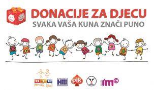Donacije za djecu