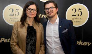 Simona Zavrtnik i Goran Vdovic, voditelj marketinga i novih medija