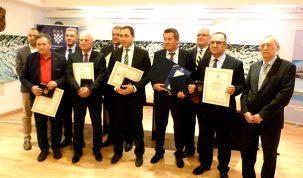 Dodijeljene Plakete Zlatna kuna najuspješnijim tvrtkama s područja HGK