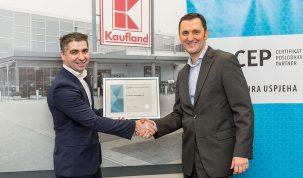 1-Kaufland - Uručenje Certifikata Poslodavac Partner