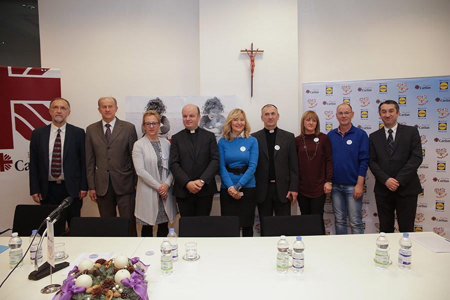 Lidl Hrvatska i Hrvatski Caritas_Pomagati je lako