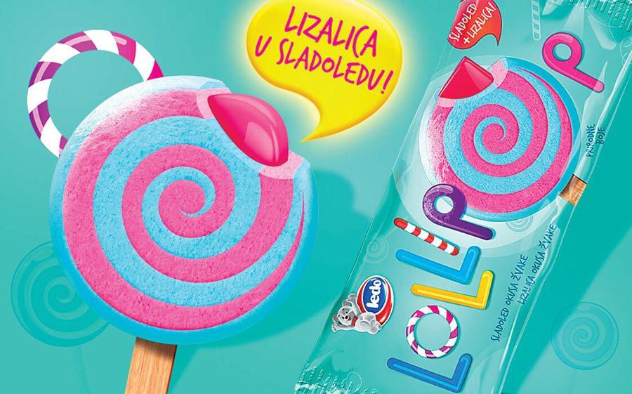 Lollipop ledo