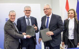 Sa svečanog potpisivanja Sporazuma između PBZ-a i EiF-a