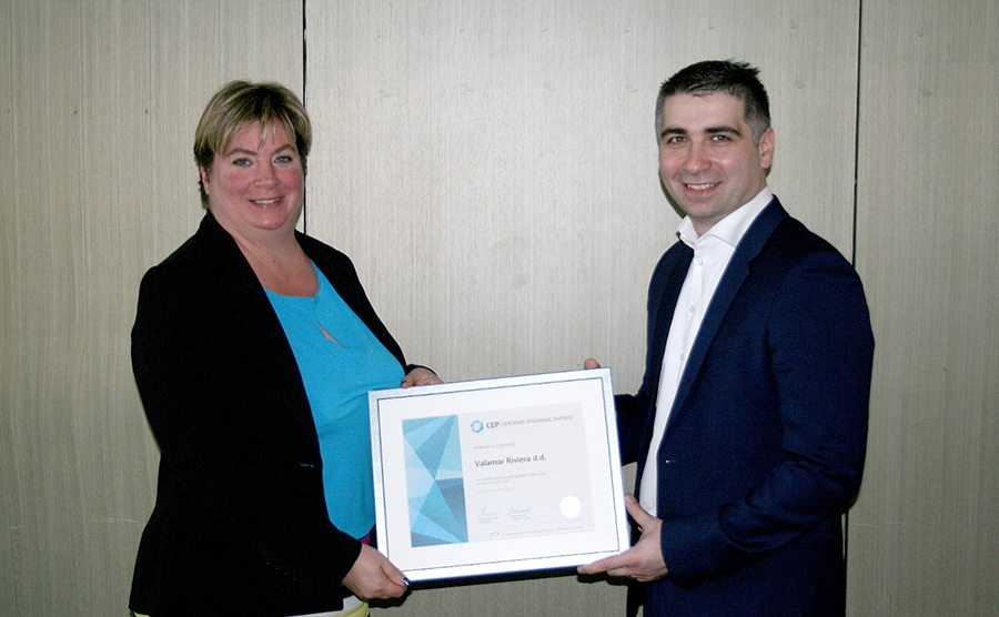 1-Valamar Riviera - Uručenje Certifikata Poslodavac Partner