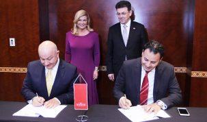 Potpsivanje ugovora između Podravke i katarskog distributera