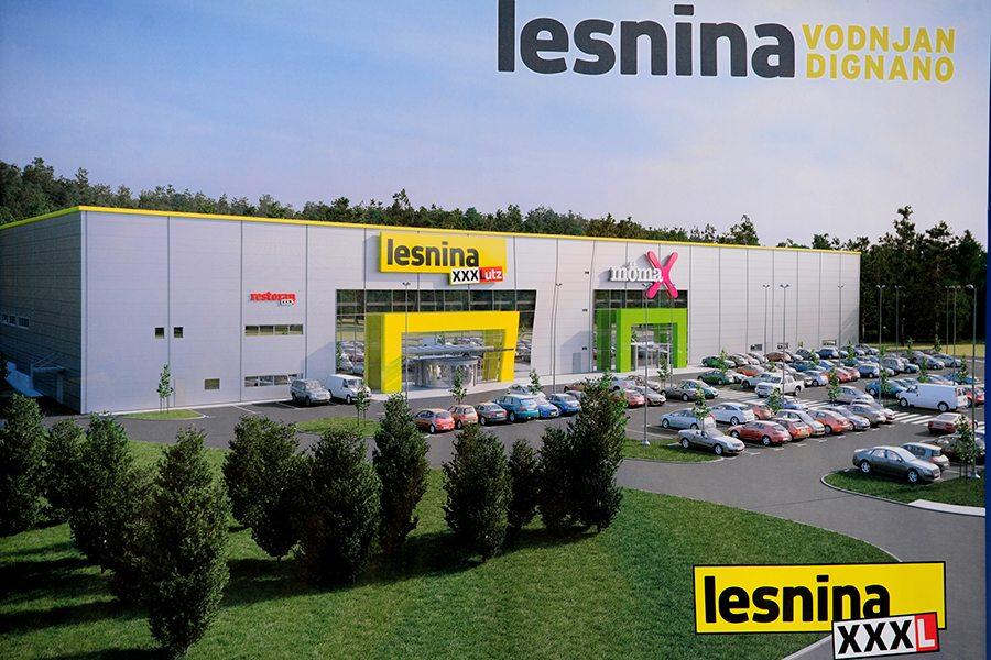 1-Lesnina Vodnjan _ prikaz buduceg prodajnog centra