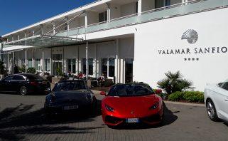 1-Testna vozila ispred hotela Valamar Sanfior