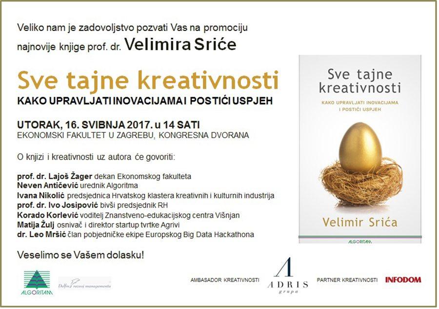 1-pozivnica na promociju - Sve tajne kreativnosti