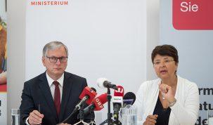 Alois Stöger, Renate Brauner David Bohmmann PID