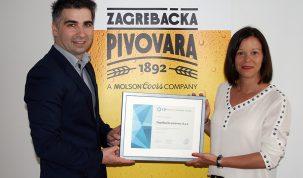 1Zagrebačka pivovara - Uručenje Certifikata Poslodavac Partner