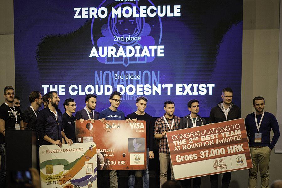 1-Zero Molecule pobjednici Novathon withPBZ-a