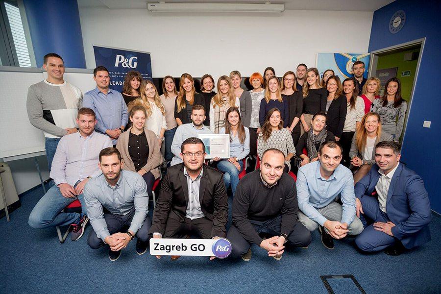 1-P&G - Dodjela Certifikata Poslodavac Partner
