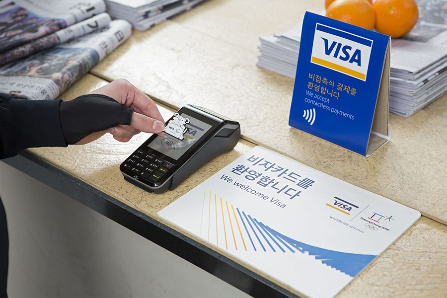 Visa payment wearable