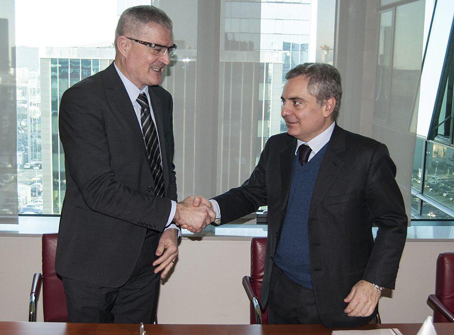 1-Božo Prka, predsjednik PBZ-a i Dario Scannapieco, potpredsjednik EIB-a