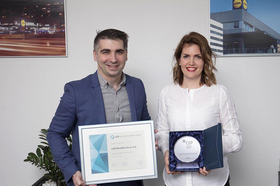 1-Lidl Hrvatska - Urucenje Certifikata Poslodavac Partner