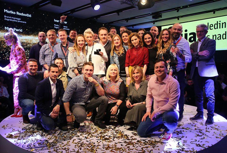 1-Zagrebačka Pivovara s partnerskim agencijama osvojila nagrade Effie, IdejaX i MIXX na Danima komunikacija