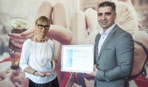 1-Uručenje Certifikata Poslodavac Partner - Coca-Cola HBC Hrvatska