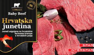 1-Hrvatska junetina Udruge Baby Beef na policama SPAR-a i INTERSPAR-a