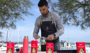 1-Prva kava u Hrvatskoj poslana dronom