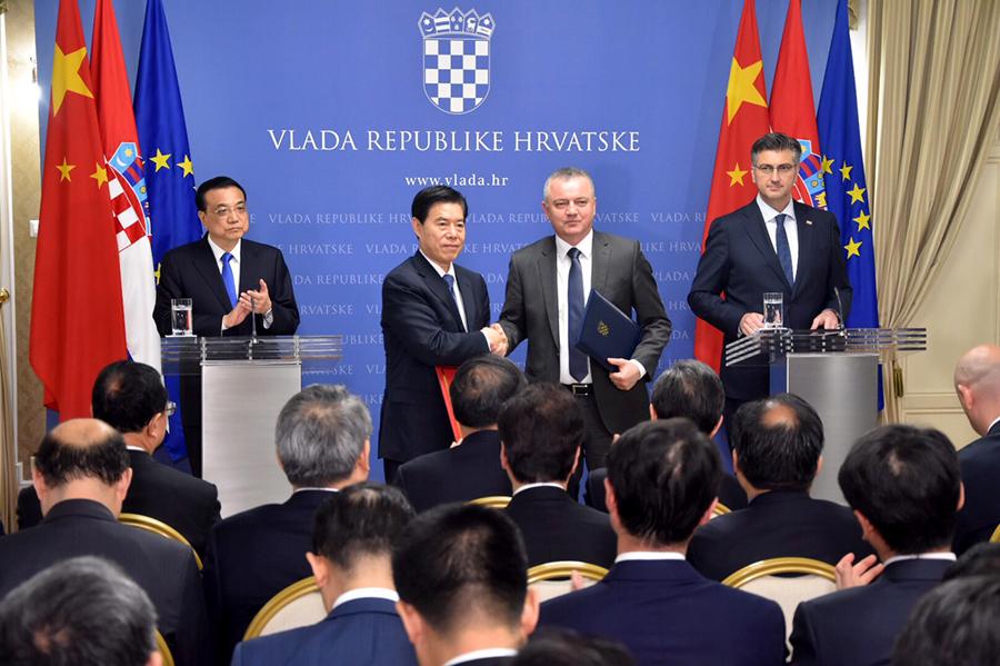 Potpisan Memorandum o suradnji na području ulaganja između Hrvatske i Kine