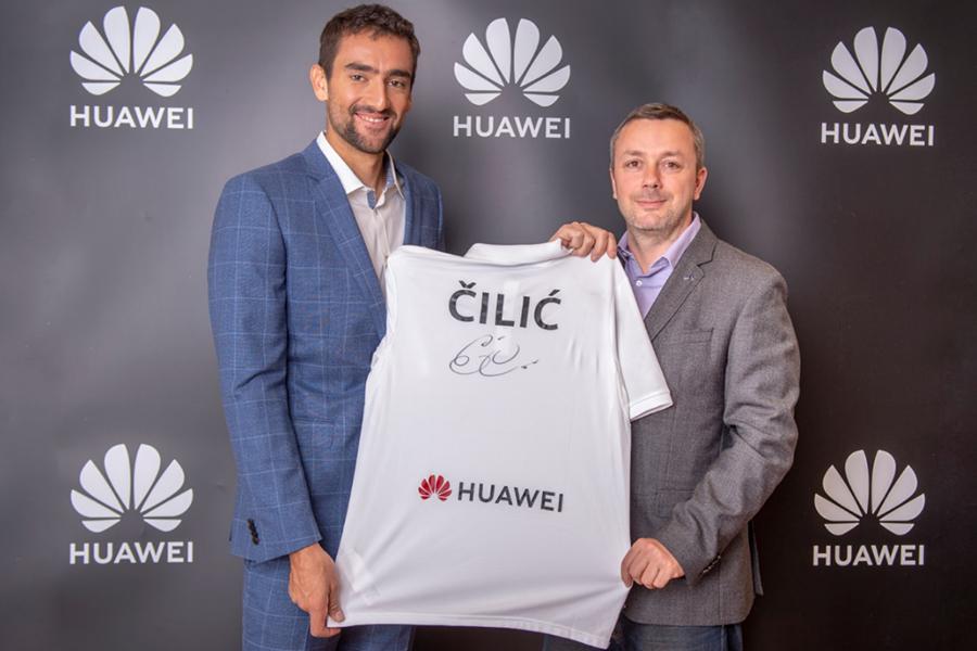 Marin Čilić postao ambasador Huaweija