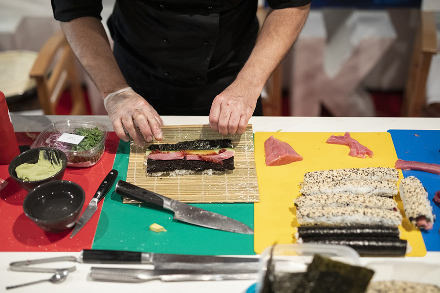 METRO na R'n'B Weekend festivalu održao Masterclass Cut'n'roll perfect sushi