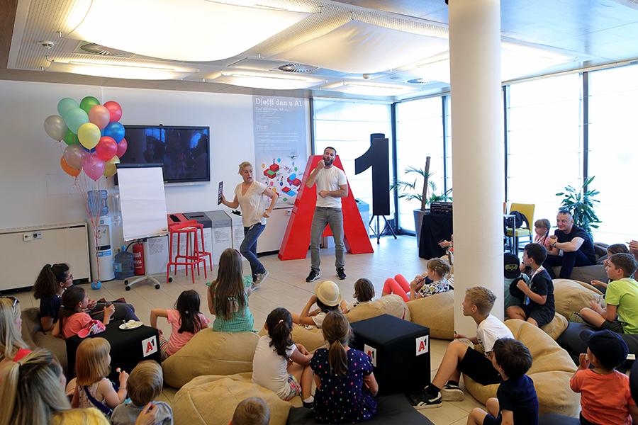 Dječji dan u A1 Hrvatska posvećen edukaciji