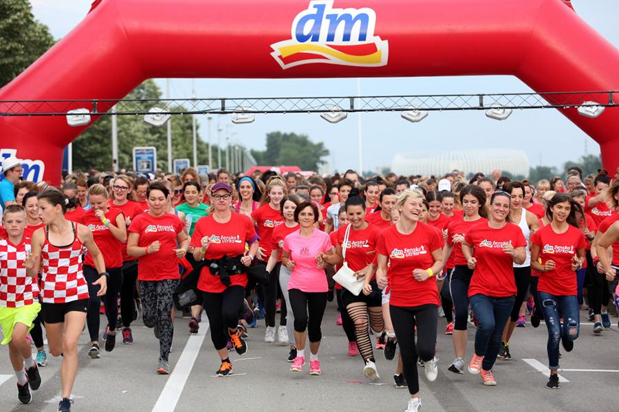 Ove subote održava se osma dm ženska utrka