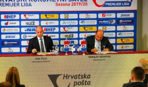 Hrvatska pošta i Hrvatski rukometni savez potpisali ugovor o sponzorstvu