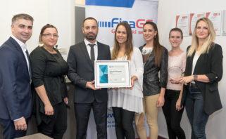FINA gotovinski servisi ponovno nagrađeni certifikatom Poslodavac Partner