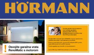 Osvojite garažna vrata RenoMatic s motorom X2!