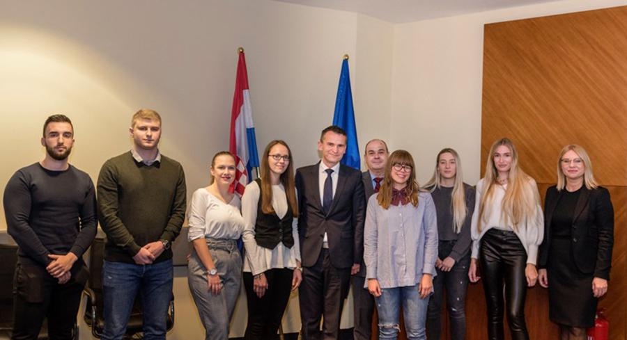 Svečano uručene stipendije Hrvatske agencije za nadzor financijskih usluga