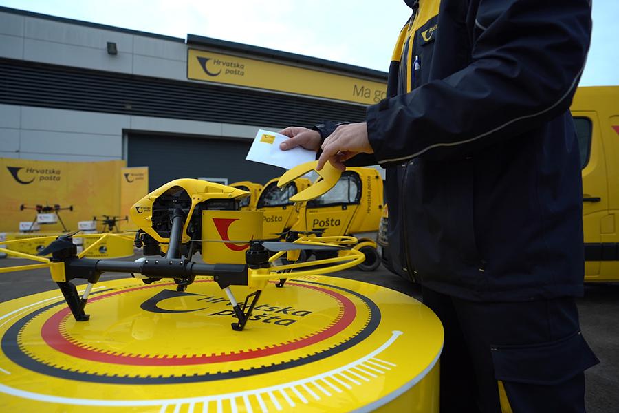 Hrvatska pošta uspješno dostavila pošiljku dronom