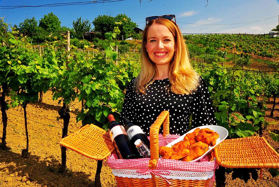 Piknik u vinogradu