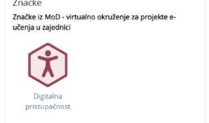 "Održan prvi online tečaj ""Digitalna pristupačnost"""