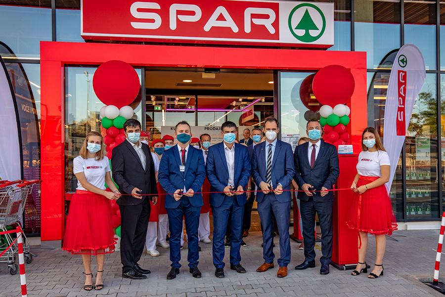SPAR Hrvatska otvorio supermarket u Bujama