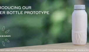 The Coca-Cola Company proizvela prototip papirnate boce