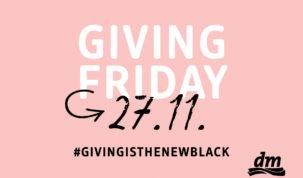 Giving Friday: dm će donirati 5 posto ukupnog dnevnog prometa